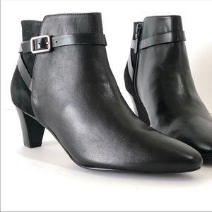 New Women's Cole Haan Sylvan Leather & Suede Boot